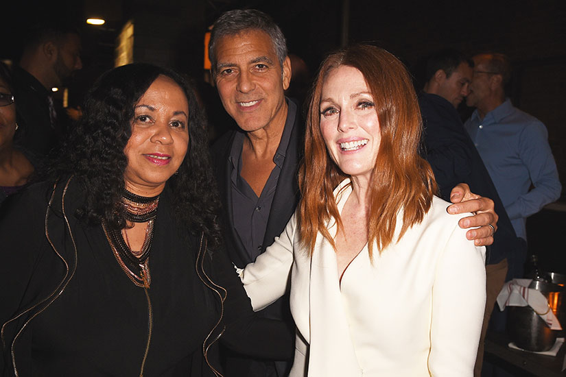 George Clooney, Nicole Kidman, & More Mingle at Star-Studded TIFF Party! Suburbicon-after-party