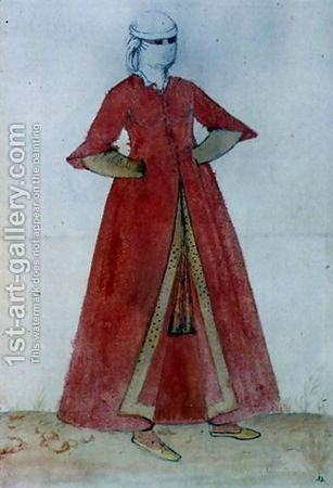 caftan et pantalon mongol XIIIème 69849053_p