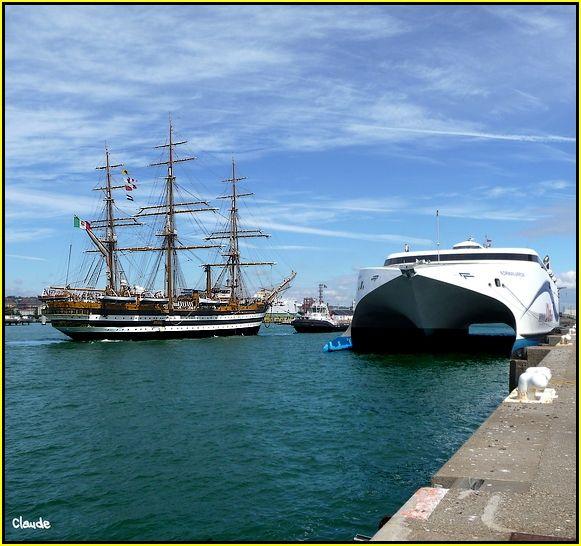 L'Amerigo Vespucci au Havre 55621323