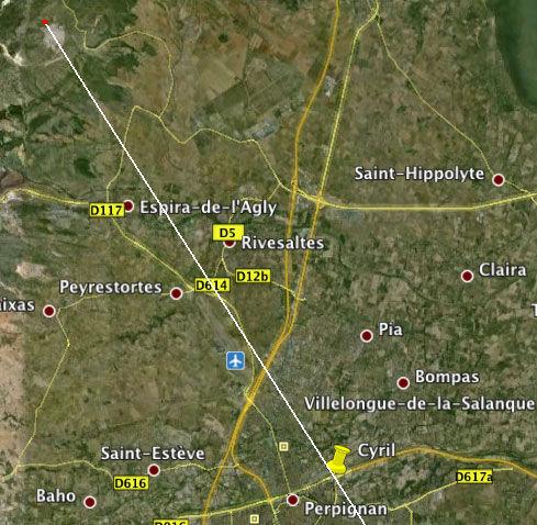2010: Le 13/08 - Perpignan : vol en formation de sphères 56440543