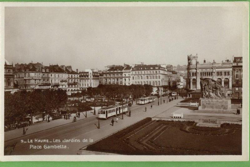 Photos historiques du réseau havrais (bus, tram, funi...) 11412177