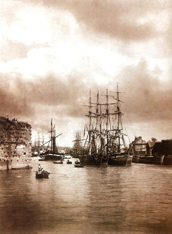 Le Havre du temps de la marine à voiles 27795545
