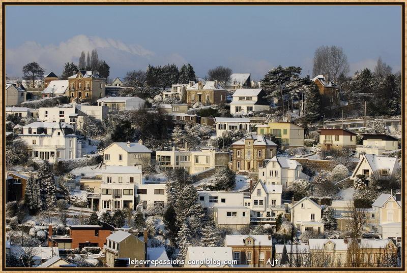 Le Havre sous la neige 49617743