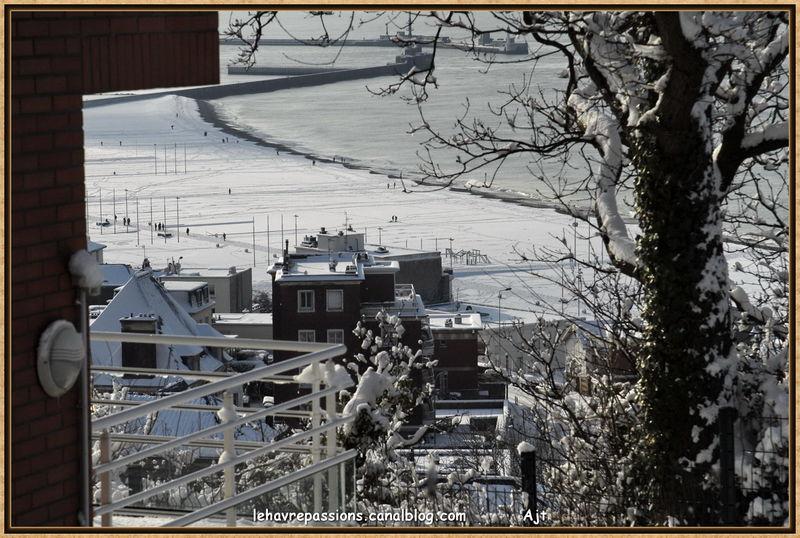 Le Havre sous la neige 49618904