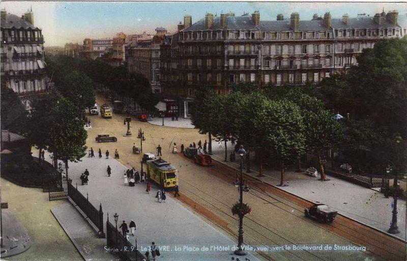 Photos historiques du réseau havrais (bus, tram, funi...) - Page 5 43584641