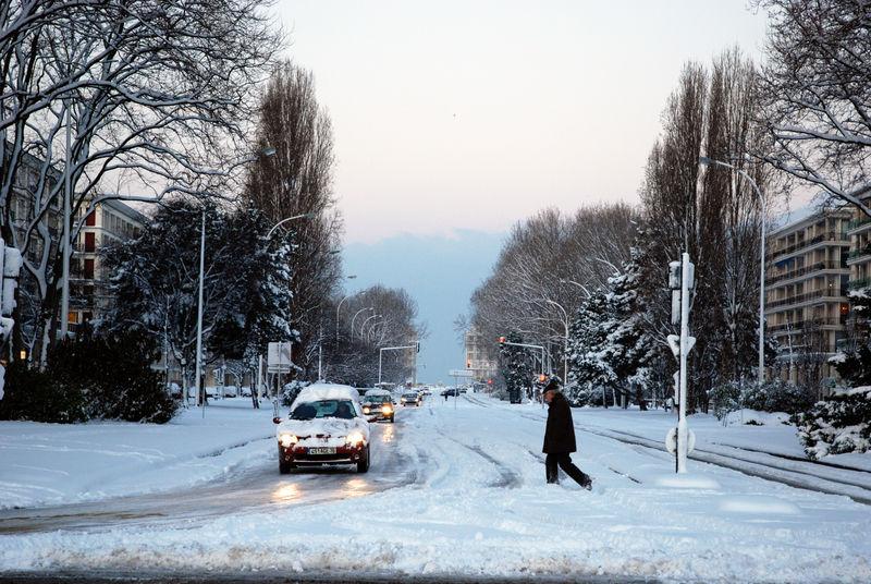 Le Havre sous la neige 49630510