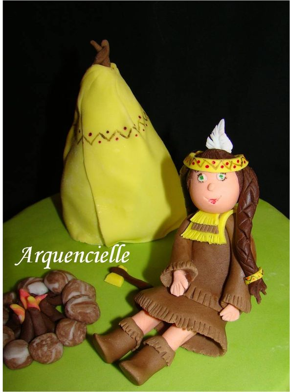 """Gâteau """"Indien d'Amérique"""" 68966147"""