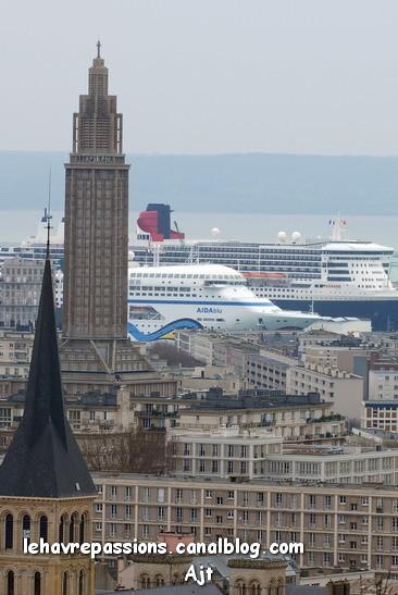 [Le Havre] Croisières et escales de paquebots 11664217