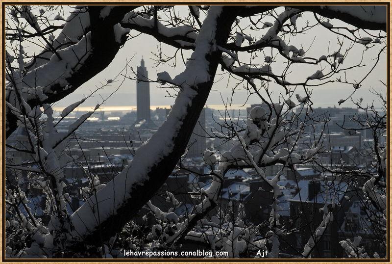 Le Havre sous la neige 49619012