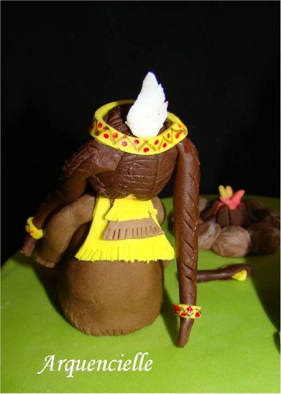 """Gâteau """"Indien d'Amérique"""" 68966121"""