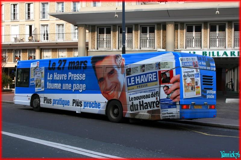 """Bus pelliculé """"intégral"""" Le Havre Libre 11635882"""