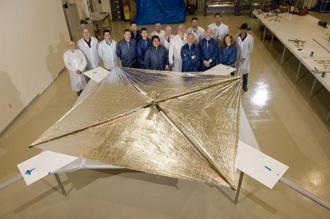 La voile solaire NanoSail-D2 51315363