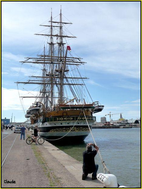 L'Amerigo Vespucci au Havre 55648897