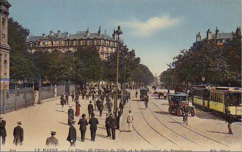 Photos historiques du réseau havrais (bus, tram, funi...) - Page 2 13821492