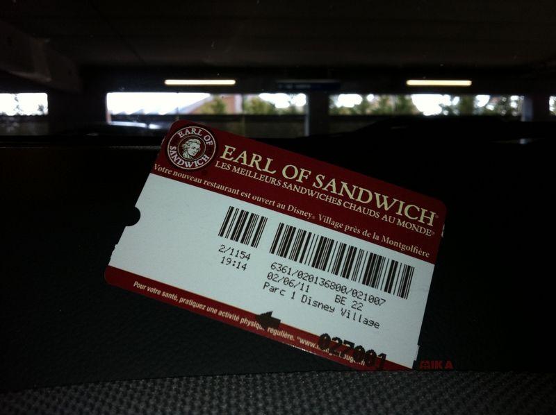 [Disney Village] Restaurant Earl of Sandwich - Page 5 65387068
