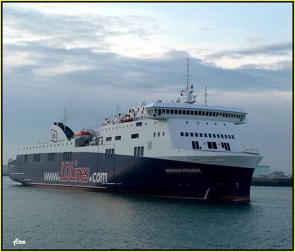 NORMAN VOYAGER - un nouveau ferry au Havre 31917565