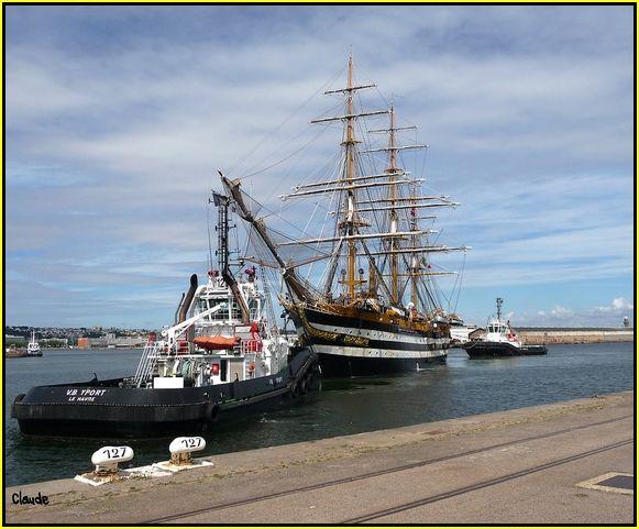 L'Amerigo Vespucci au Havre 55648780