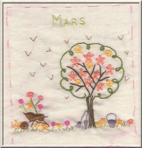 Légende du MOIS DE MARS 50417560