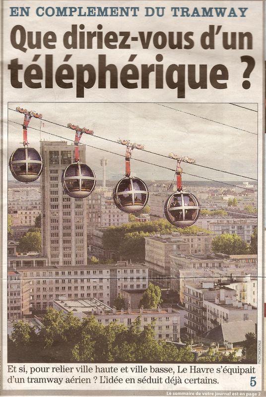 Projet de Téléphérique au Havre 49318603