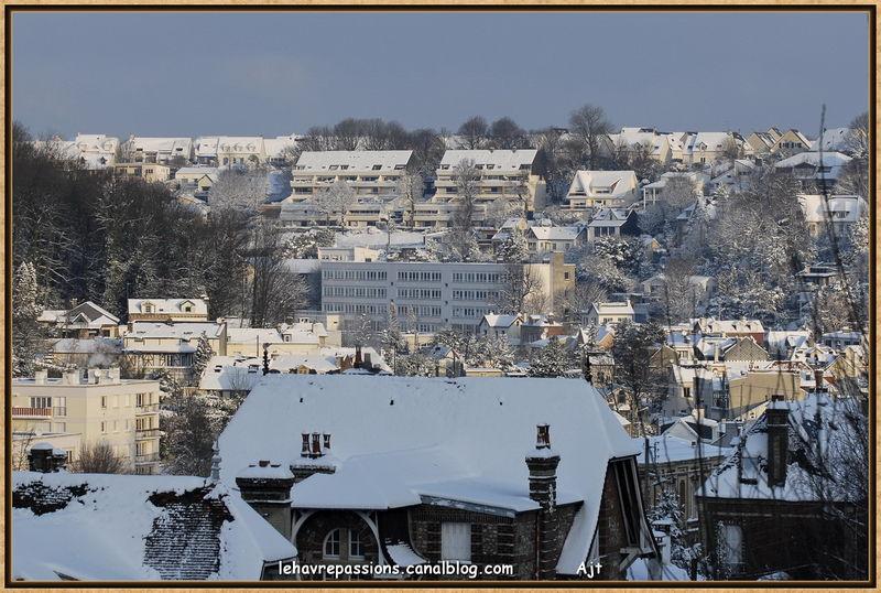 Le Havre sous la neige 49618216