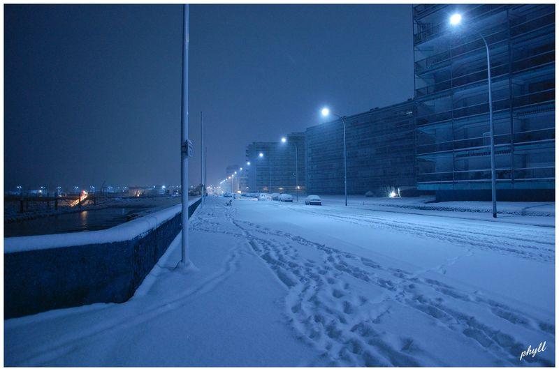 Le Havre sous la neige 49669927