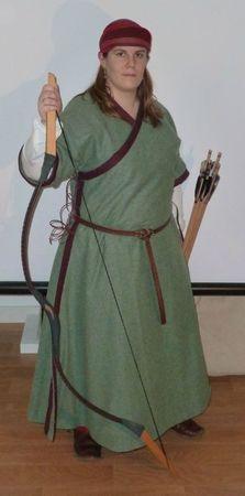 caftan et pantalon mongol XIIIème 72377239_p