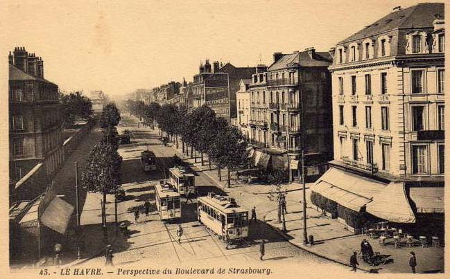 Photos historiques du réseau havrais (bus, tram, funi...) - Page 2 16506642