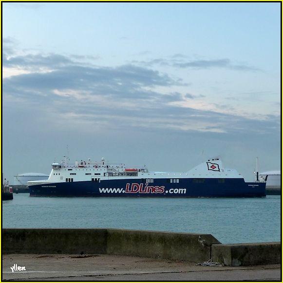 NORMAN VOYAGER - un nouveau ferry au Havre 31917396