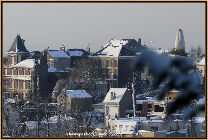 Le Havre sous la neige 49617873