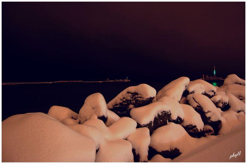 Le Havre sous la neige 49669911