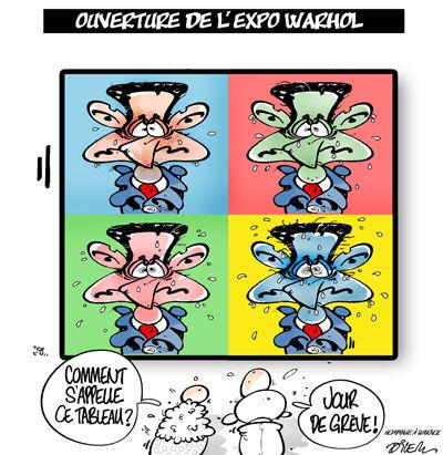 Exposition d'Andy Warhol au Grand Palais jusqu'au 13 juillet 2009 37488012