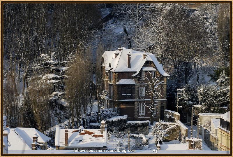 Le Havre sous la neige 49618033