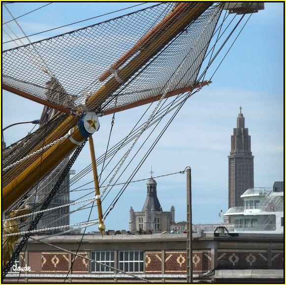 L'Amerigo Vespucci au Havre 55648729