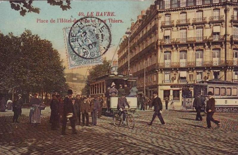 Photos historiques du réseau havrais (bus, tram, funi...) - Page 3 18107122