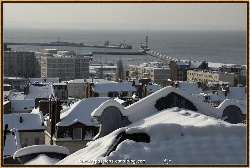 Le Havre sous la neige 49619374