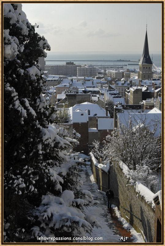 Le Havre sous la neige 49619272
