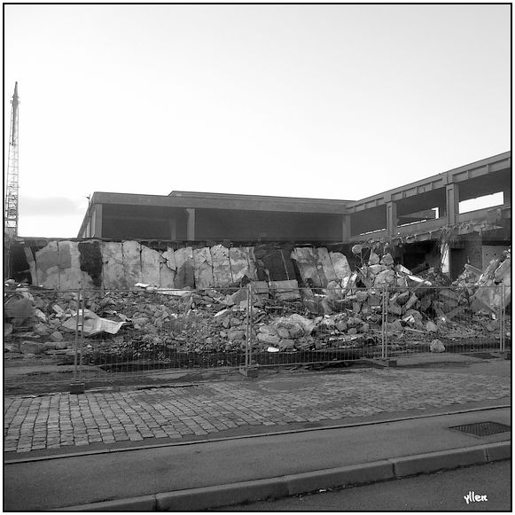 Destruction de la Gare Transatlantique de la FRENCH LINE 35062196