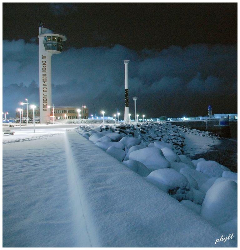 Le Havre sous la neige 49669892