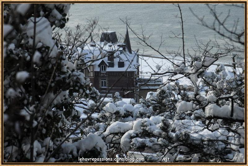 Le Havre sous la neige 49618708