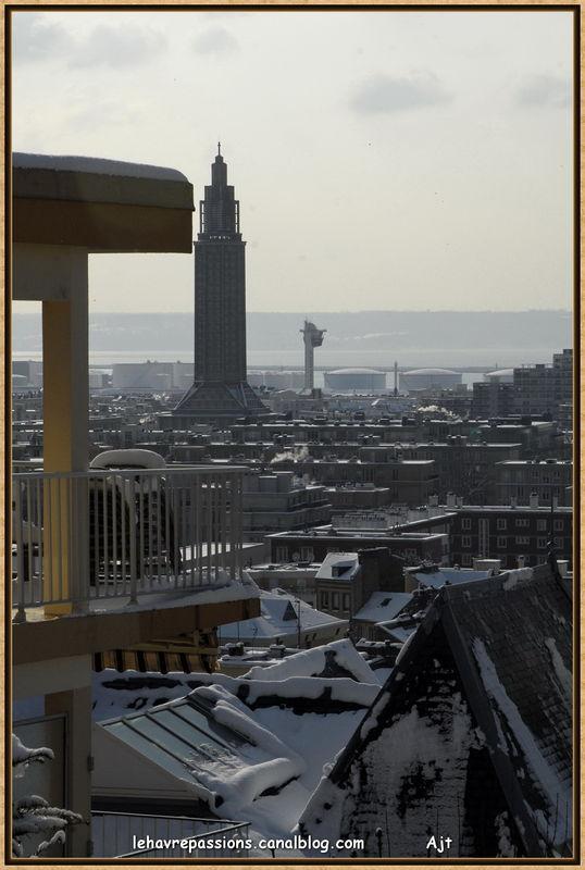 Le Havre sous la neige 49619105
