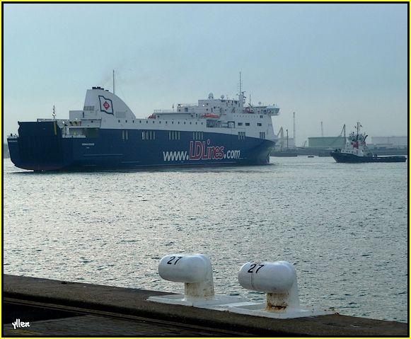 NORMAN VOYAGER - un nouveau ferry au Havre 31917486