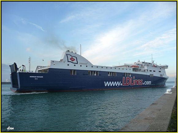 NORMAN VOYAGER - un nouveau ferry au Havre 31917623