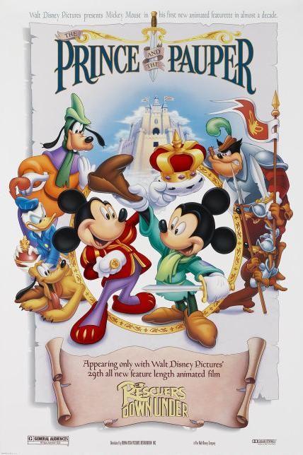 [Cartoon Walt Disney] Le Prince et le Pauvre (1990) 32211904