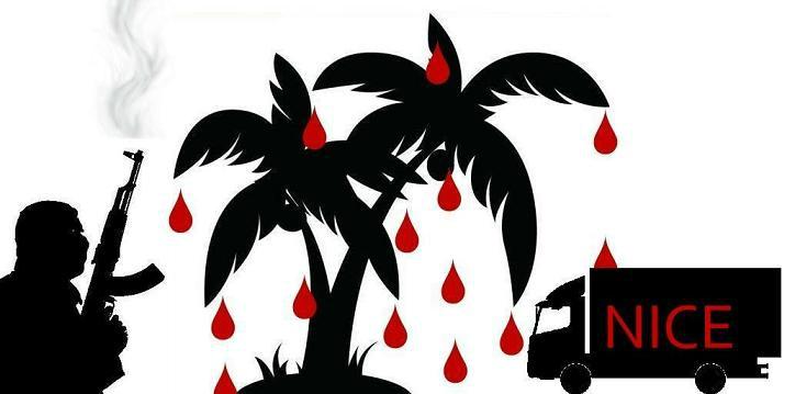 EN IMAGES - Attentat à Nice: des dessins pour rendre hommage aux victimes. 111651020