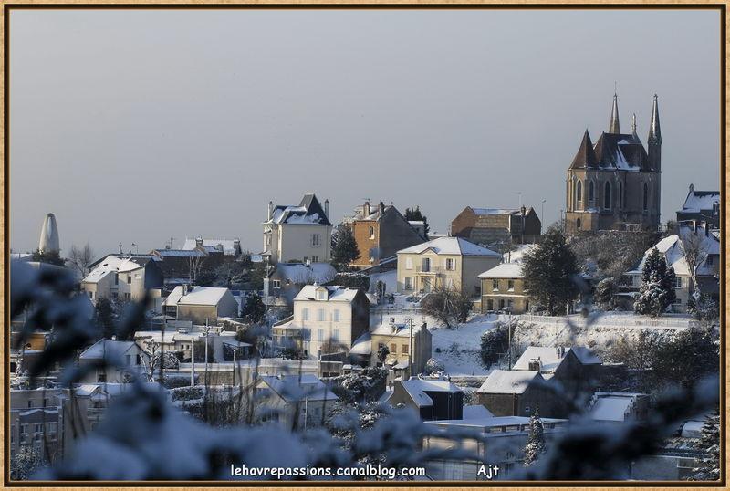Le Havre sous la neige 49617956