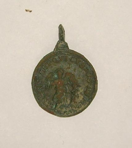 Médaille St-Antoine-de-Padoue et l'Ange gardien - XVIIème 61347788