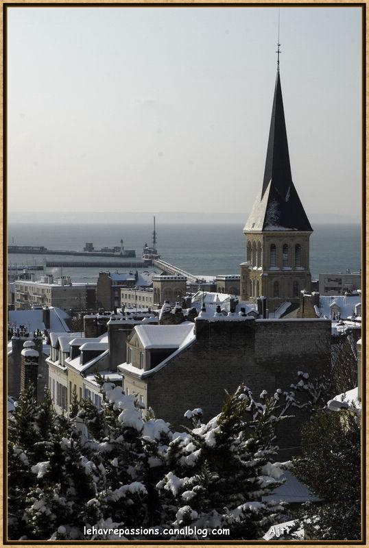 Le Havre sous la neige 49619456