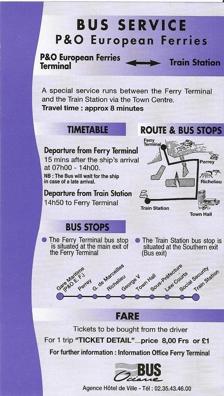 P&O Bus Service 61763293