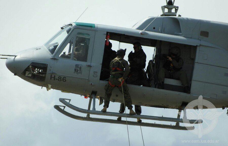 Incidente de Bell212 según La Capital (MDP) Helicoptero-bell