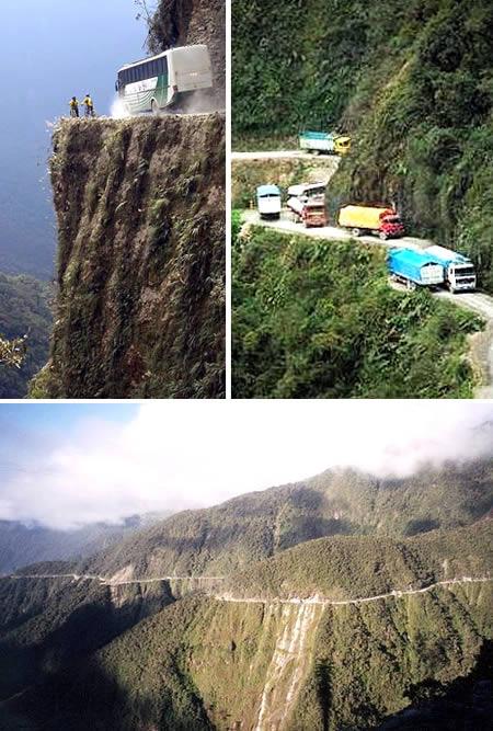 Top 10 cele mai periculoase drumuri din RO Bolivia